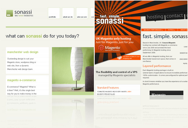 new sonassi websites